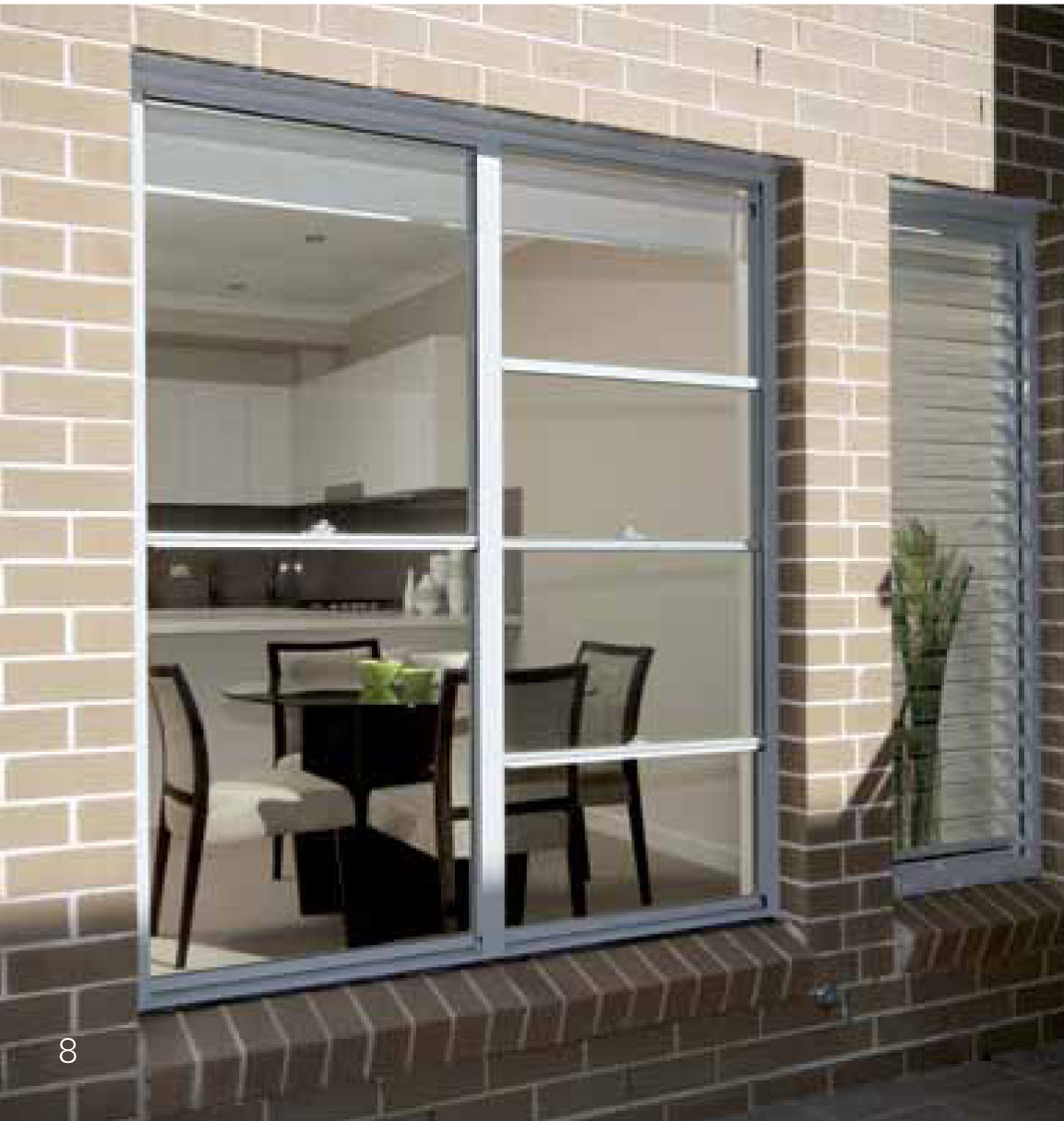 Double Hung Window Security Bar : Eurostyle windows and doors single double hung