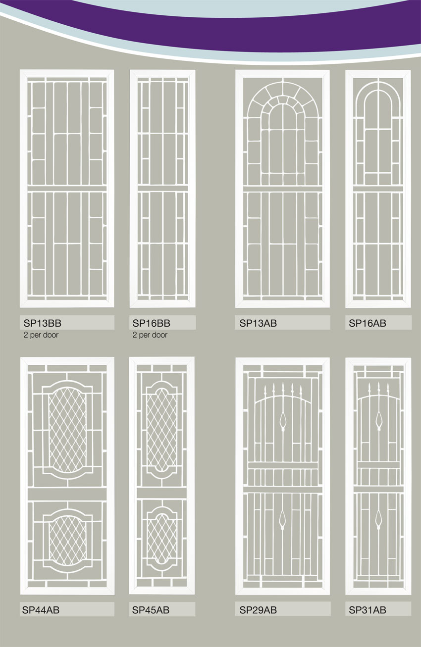 Eurostyle Windows And Doors Colonial Castings Security