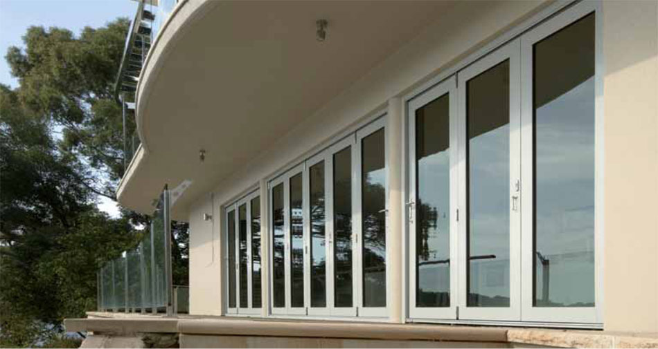 Aluminium Bi-fold patio doors Adelaide & Eurostyle Windows and Doors \u2013 Aluminium Bi-fold patio doors Adelaide