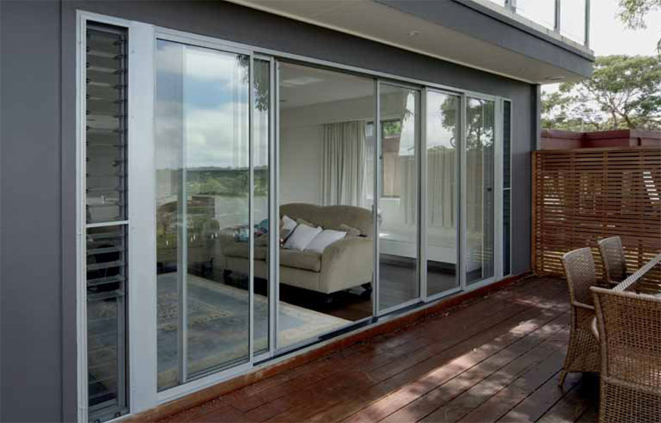 Eurostyle windows and doors aluminium sliding patio for Aluminium patio doors