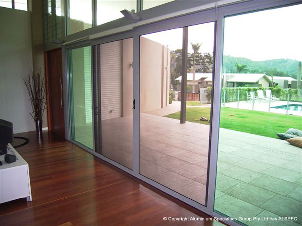 Eurostyle windows and doors invisi gard sliding security